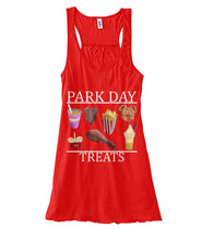 Load image into Gallery viewer, Park Day Treats Women's Flowy Tank