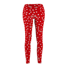 Load image into Gallery viewer, Red Polka Dot Leggings