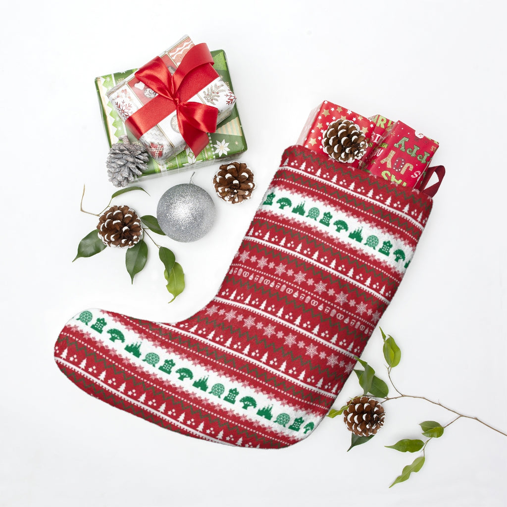 Parks Ugly Sweater Christmas Stockings