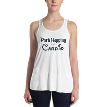 Load image into Gallery viewer, Park Hopping Cardio Women's Flowy Tank  - Dark