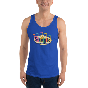 Single and Ready to Mingle Unisex Park Tank