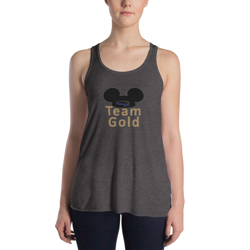 Team Gold  Women's Flowy Tank