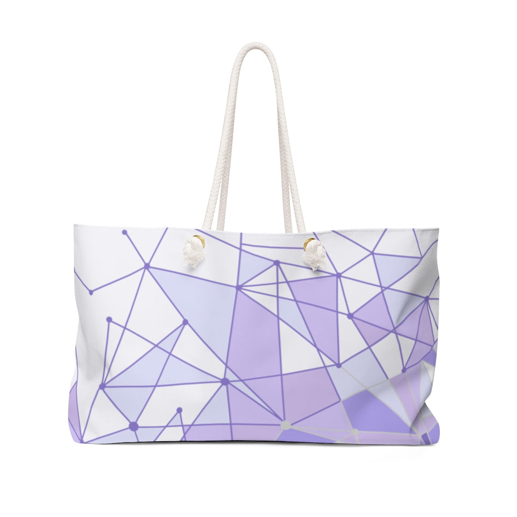 Purple Wall Weekender Bag