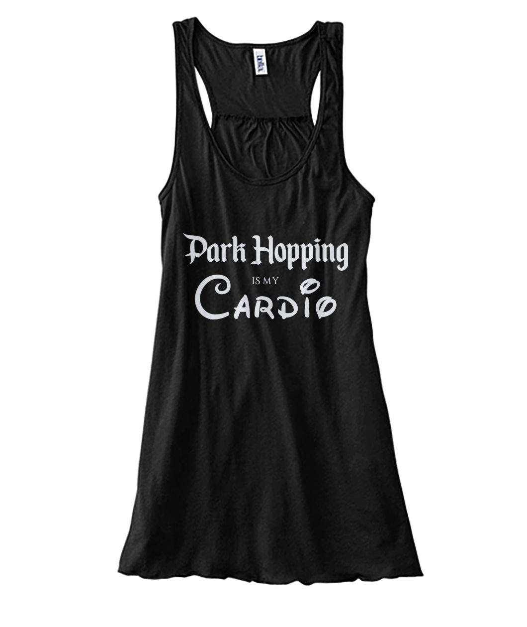 Park Hopping Cardio Women's Flowy Tank - Light