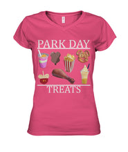 Load image into Gallery viewer, Park Day Treats Women's V-Neck