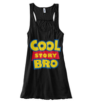 Load image into Gallery viewer, Cool Story Bro Women's Flowy Tank