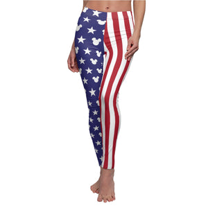 Women's 'Merica Casual Leggings