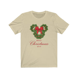Merry Christmas T-Shirt - with bow