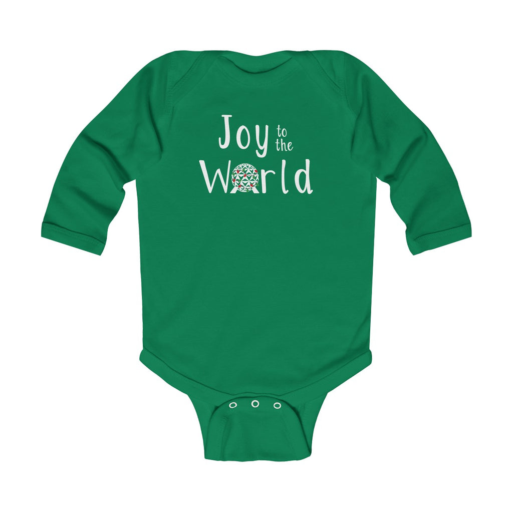 Joy to the World Long Sleeve Bodysuit