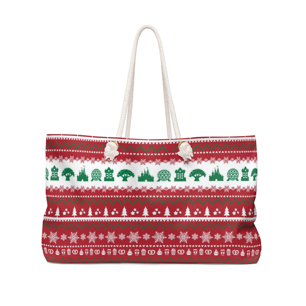 Parks Ugly Sweater Weekender Bag