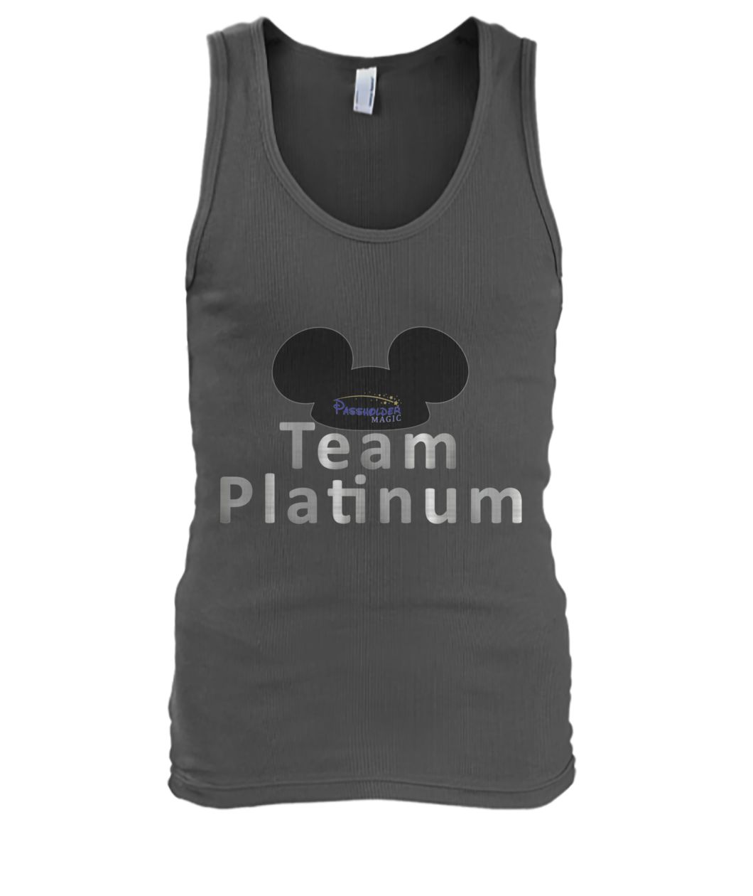 Team Platinum Men's Tank Top