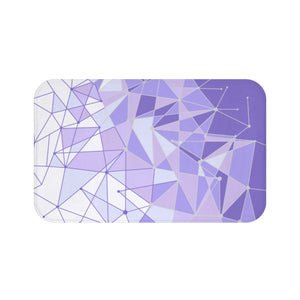 Purple Wall Bath Mat