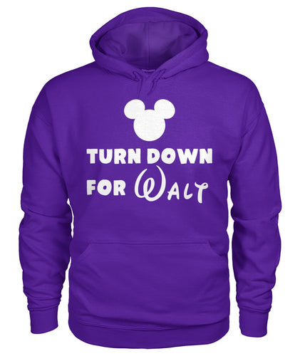 Turn Down for Walt Gildan Hoodie