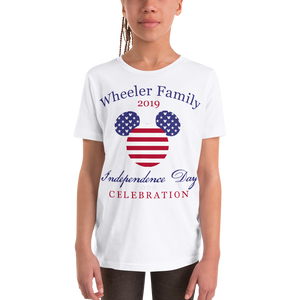 Youth Independence Day Family Celebration Tee - Personalized