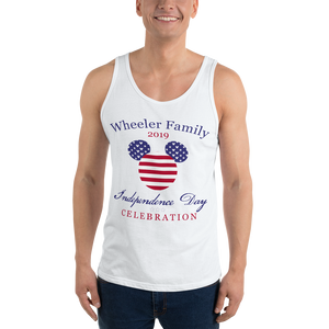 Independence Day Family Celebration Unisex Tank - Personalized