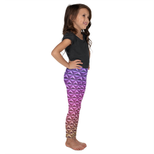 Load image into Gallery viewer, Geodesic Sphere at Night Girl's Leggings