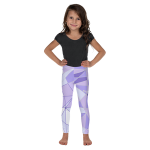 Purple Wall Girls Leggings