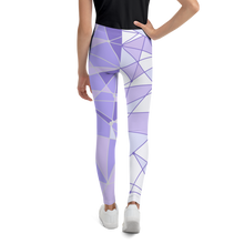 Load image into Gallery viewer, Purple Wall Youth Leggings