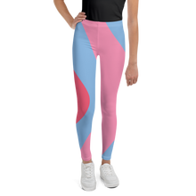 Load image into Gallery viewer, Bubble Gum Wall Youth Leggings