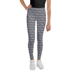 Geodesic Sphere Youth Leggings