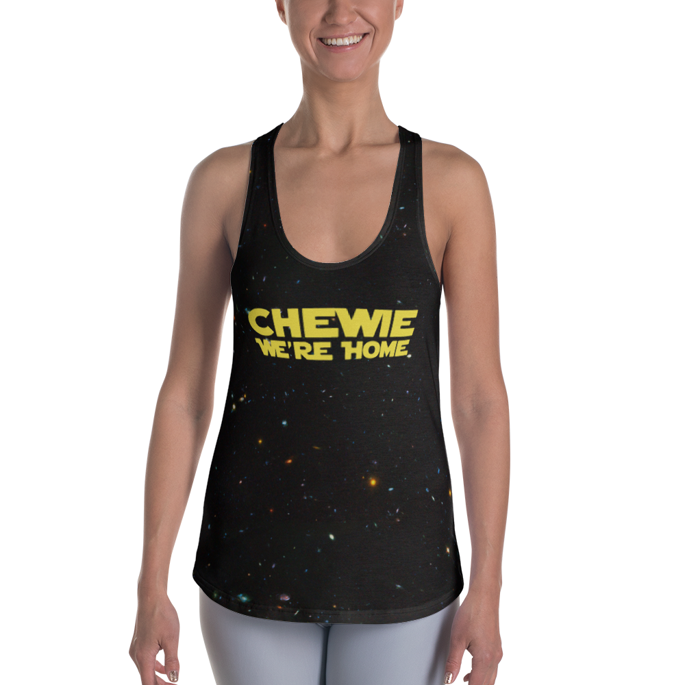 We're Home Women's Racerback Tank