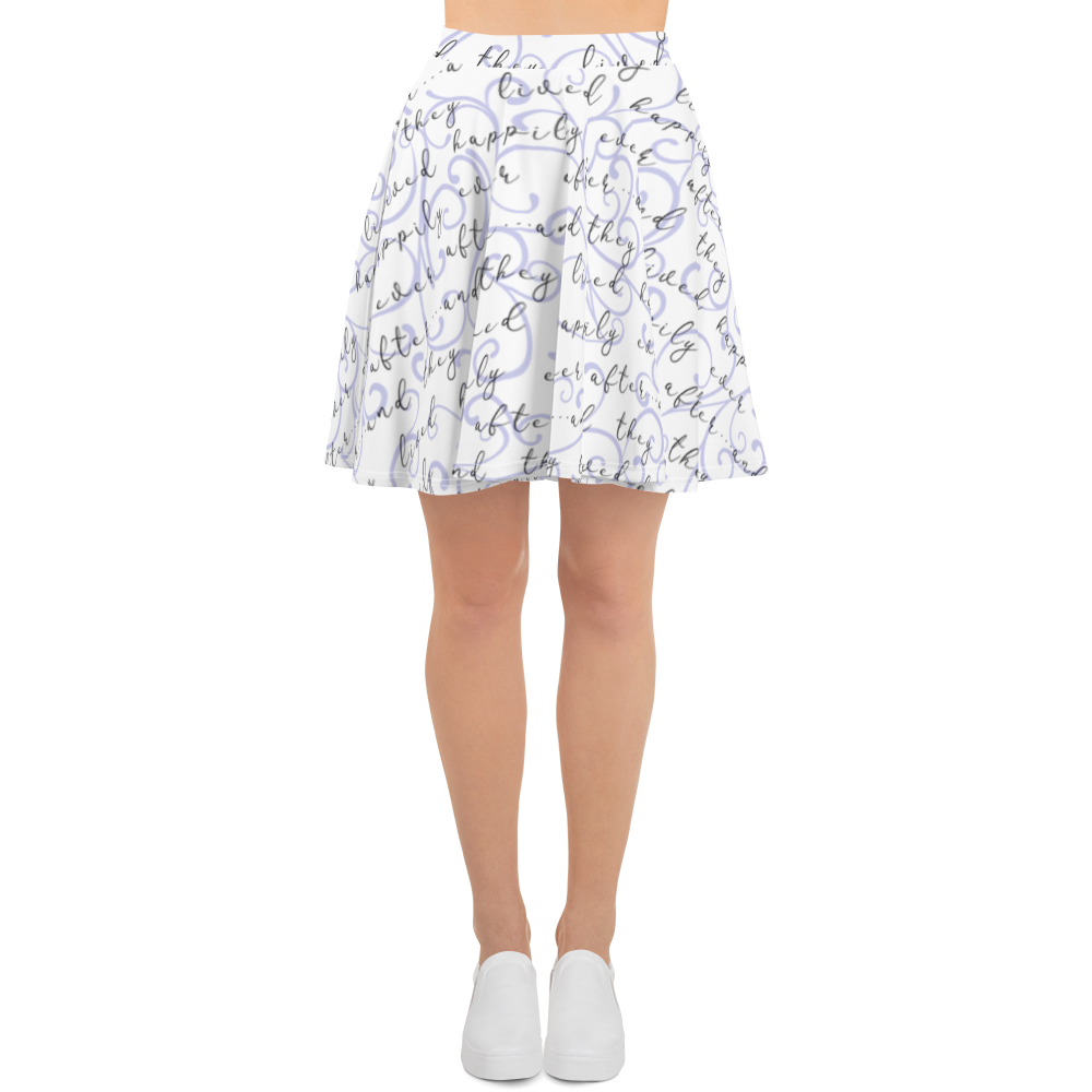 Happily Ever After Skater Skirt - Lavender