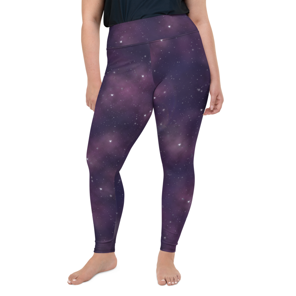Space Plus Size Leggings