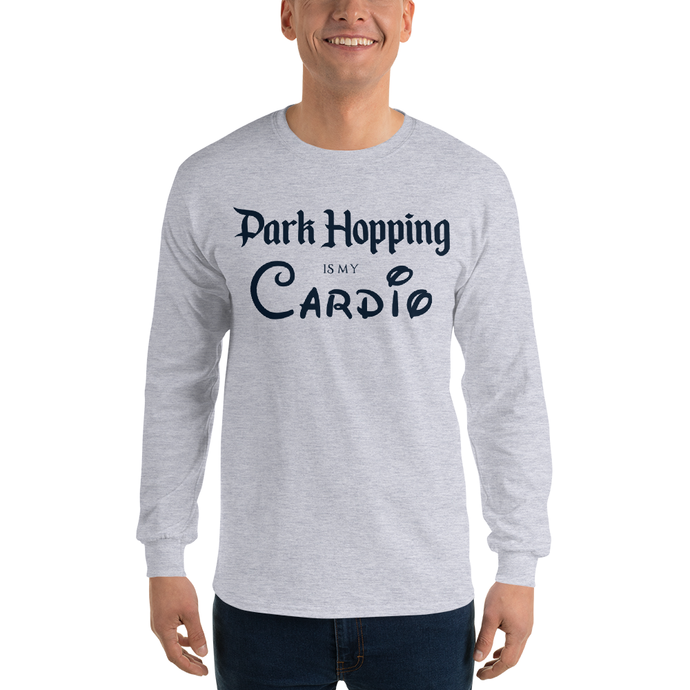 Park Hopping Cardio Long Sleeve T-Shirt - Dark