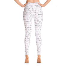 Load image into Gallery viewer, Happily Ever After Yoga Leggings - Pink