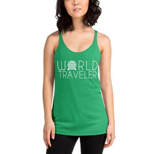 World Traveler Racerback Tank