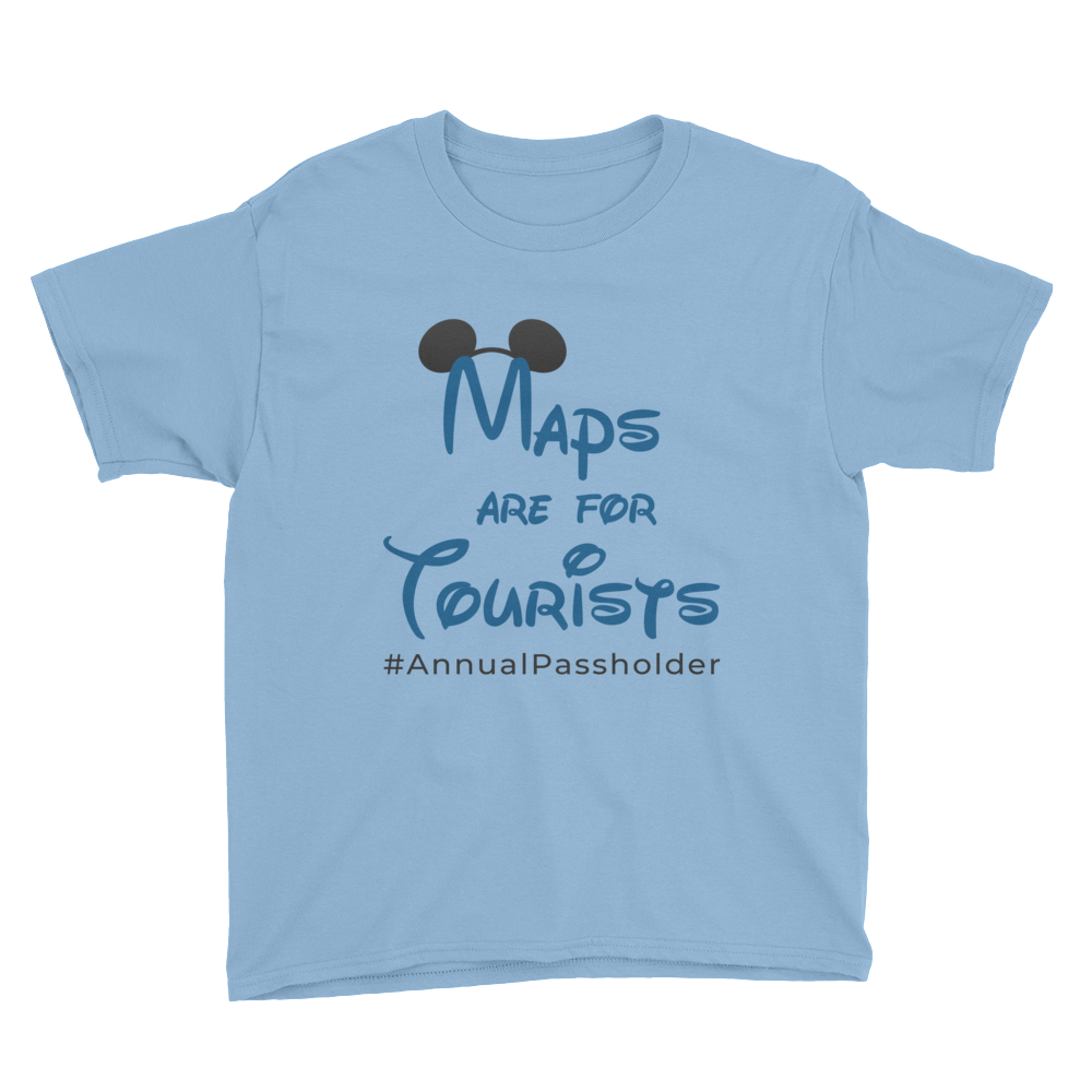 Maps are for Tourists Juniors T-Shirt