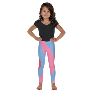Bubble Gum Wall Girls Leggings