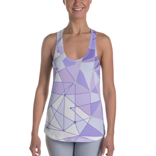 Purple Wall Racerback Tank