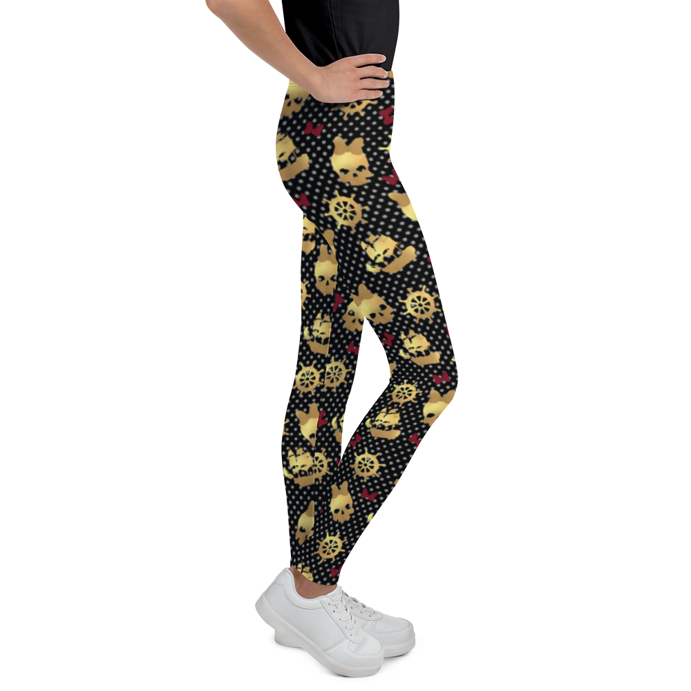Pirates Youth Leggings