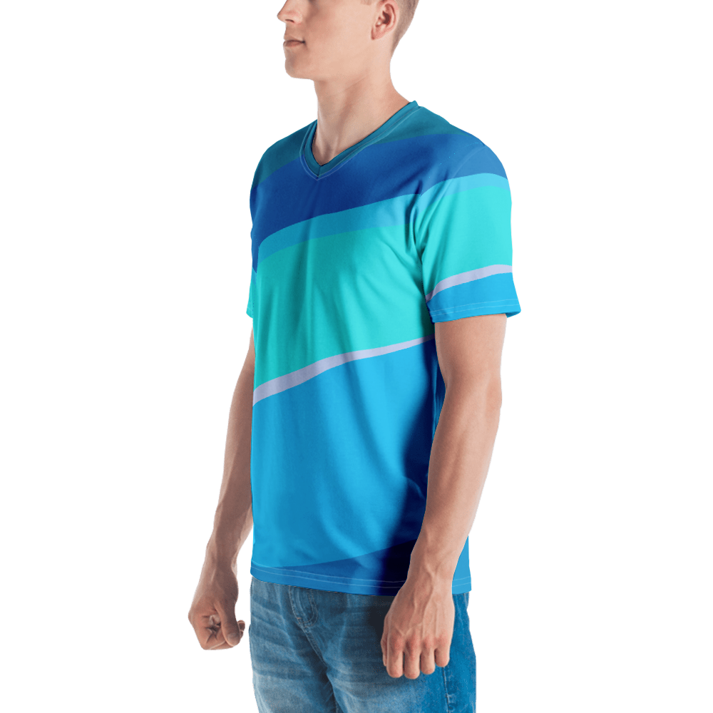 Men's Toothpaste Wall V-Neck Shirt