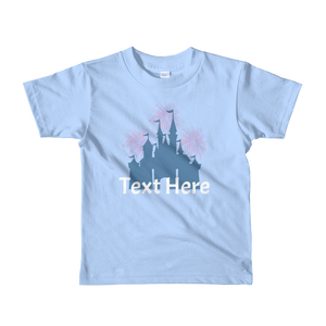 Personalized Castle Kids T-Shirt