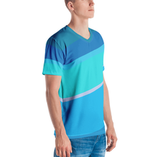 Load image into Gallery viewer, Men's Toothpaste Wall V-Neck Shirt