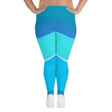 Load image into Gallery viewer, Toothpaste Wall Plus Size Leggings