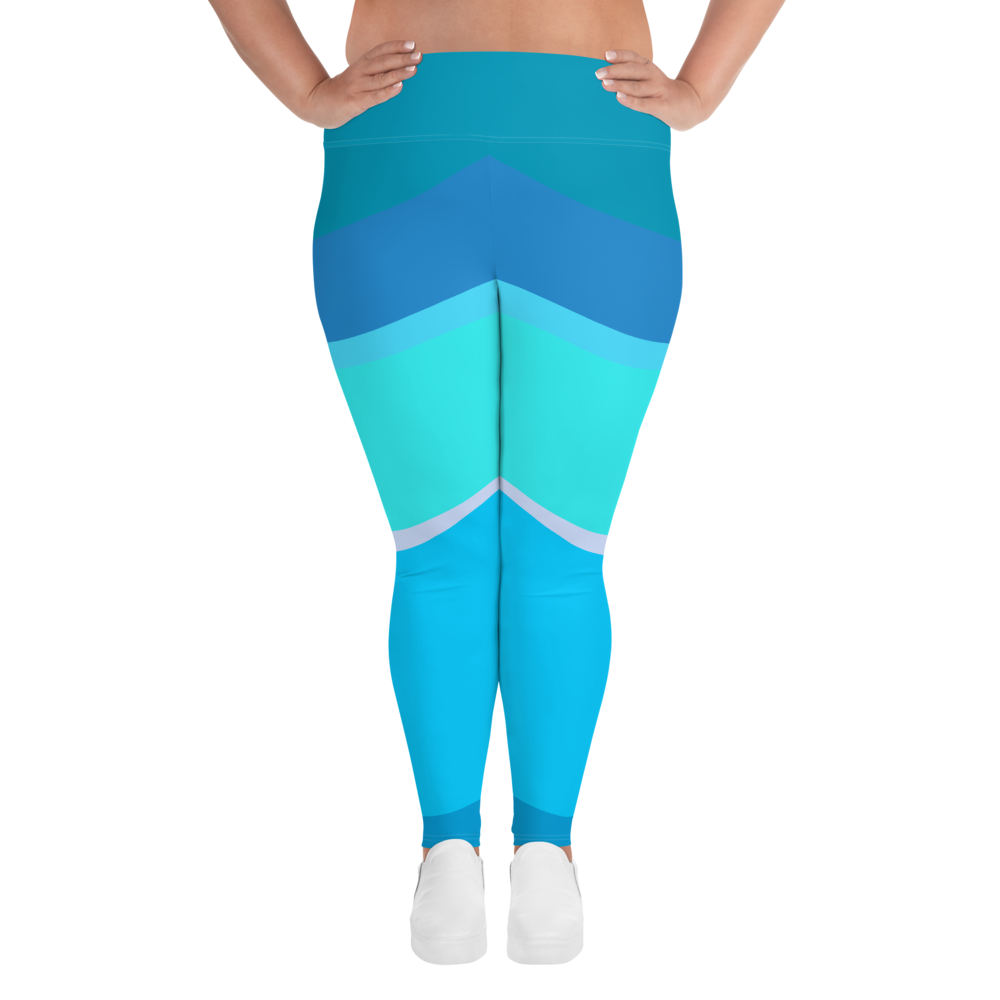 Toothpaste Wall Plus Size Leggings
