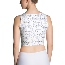 Load image into Gallery viewer, Happily Ever After Crop Top - Lavender