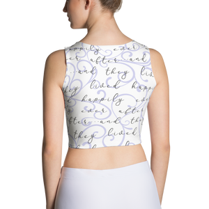 Happily Ever After Crop Top - Lavender