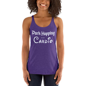 Park Hopping Cardio Racerback Tank - Light