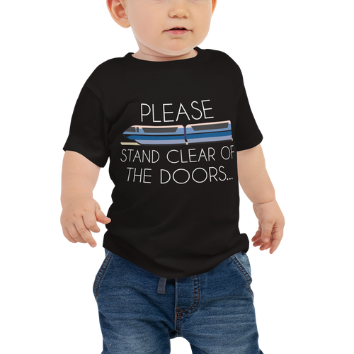 Please Stand Clear Baby Tee - English