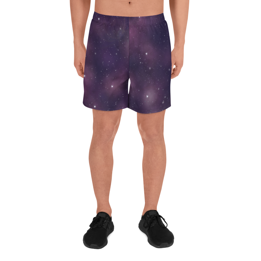 Space Men's Athletic Long Shorts