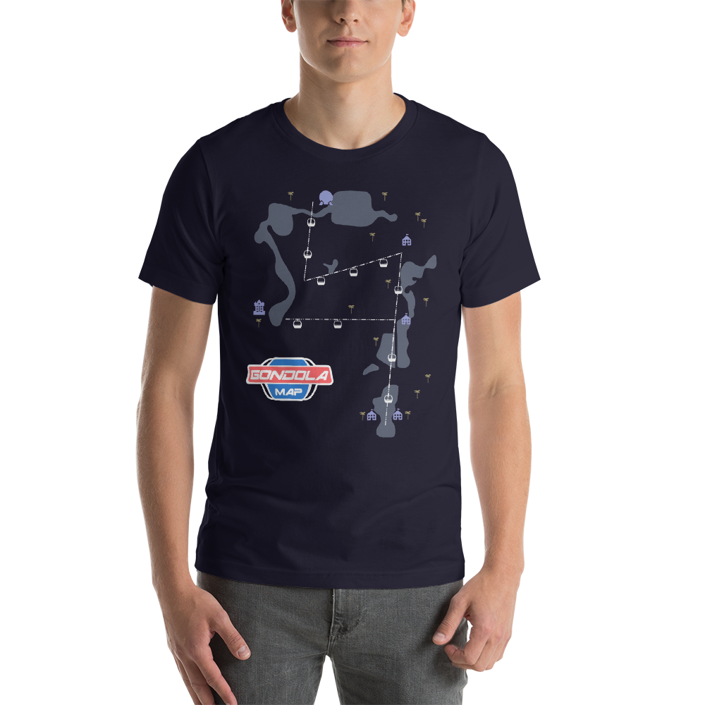 Gondola Map T-Shirt