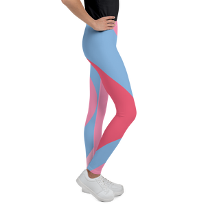 Bubble Gum Wall Youth Leggings