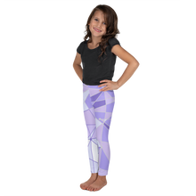 Load image into Gallery viewer, Purple Wall Girls Leggings
