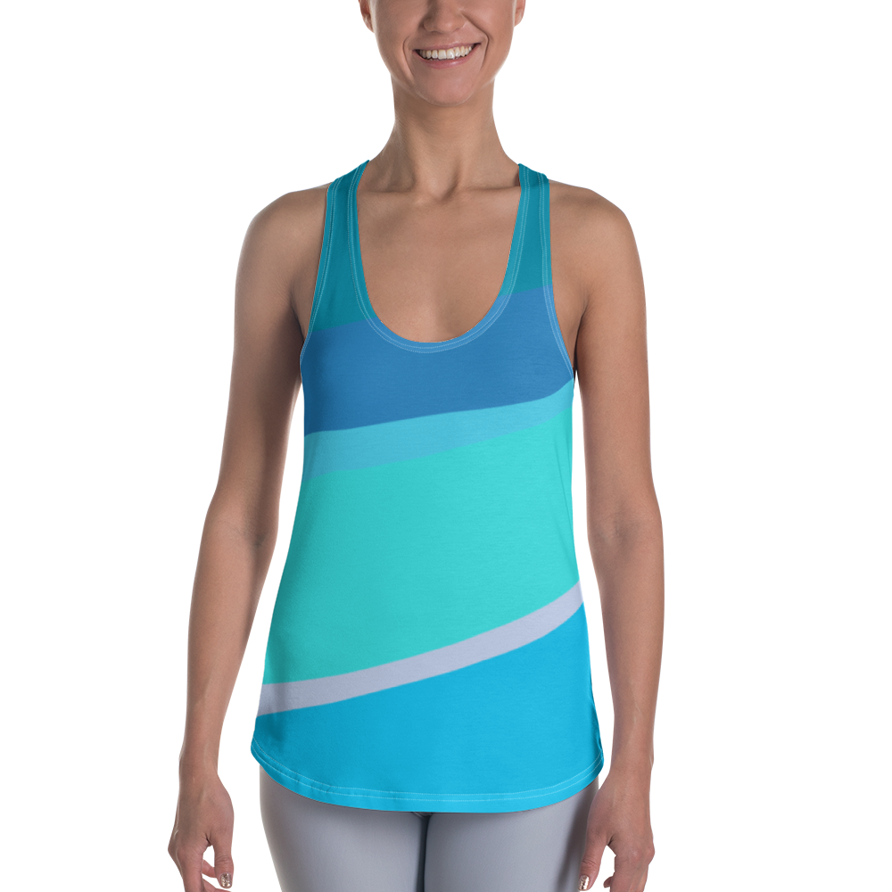 Toothpaste Wall Racerback Tank Top