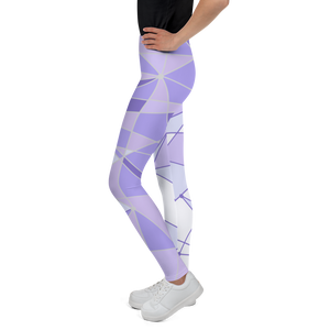 Purple Wall Youth Leggings