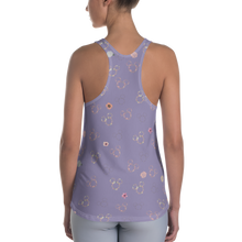 Load image into Gallery viewer, Flower & Garden Racerback Tank Top